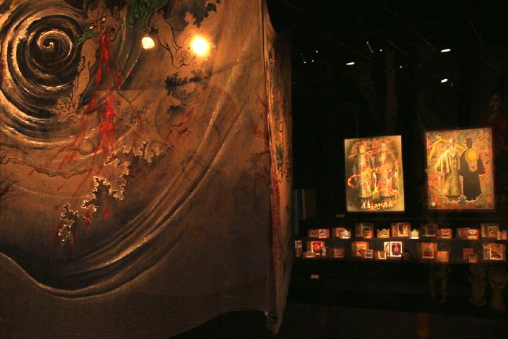 「麻の蚊帳絵」と纐纈敏郎の作品