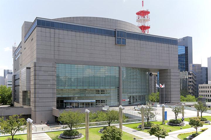 あいちトリエンナーレのメイン会場となった愛知芸術文化センター