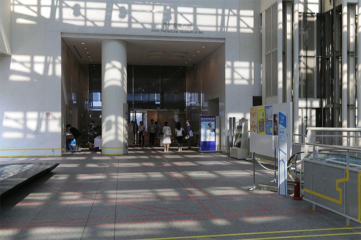 愛知県美術館10階入口(愛知県美術館10階)