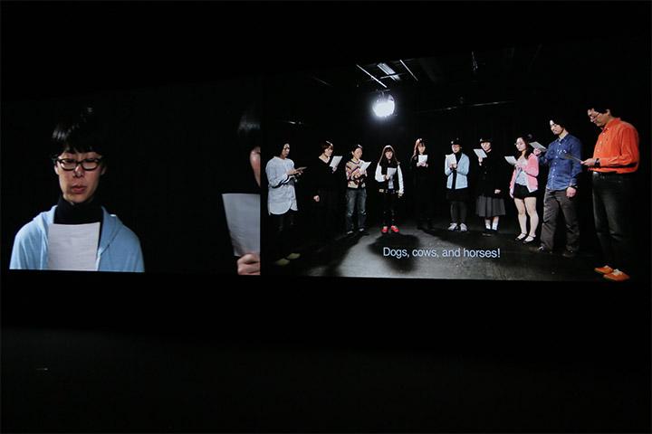 ニナ・フィッシャー&マロアン・エル・サニ《3.11後の生きものの記録》愛知県美術館8階