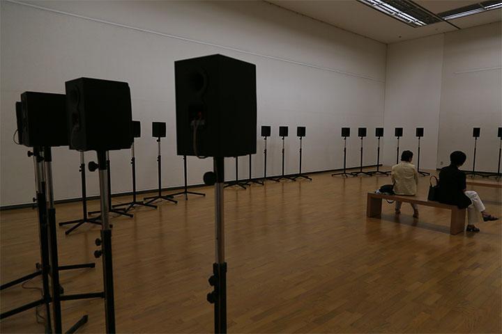ジャネット・カーディフ&ジョージ・ビュレス・ミラー《40声部のモテット》愛知県美術館8階