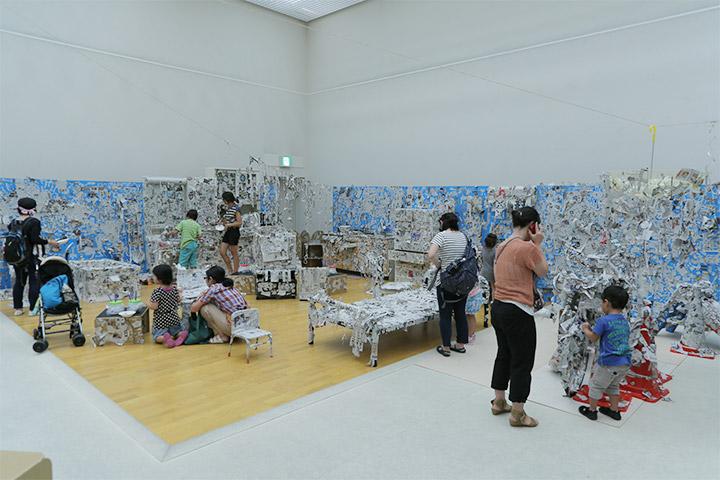 キッズトリエンナーレ 愛知芸術文化センター8階