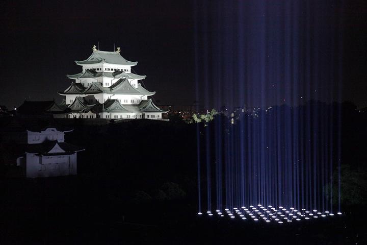 池田亮司《spectra[nagoya](スペクトラナゴヤ)》(2010)