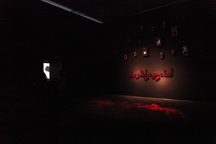 ズリカ・ブアブデラ 「Nouba」 2010 . 愛知県美術館のギャラリー(8F)