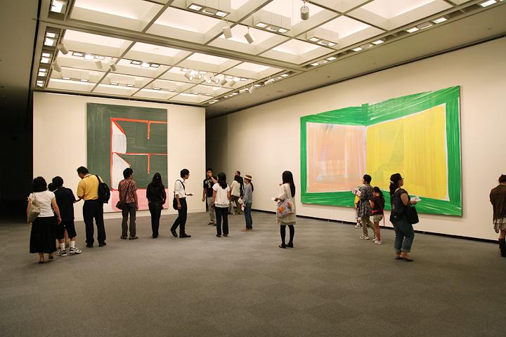 登山博文の展示 愛知県美術館