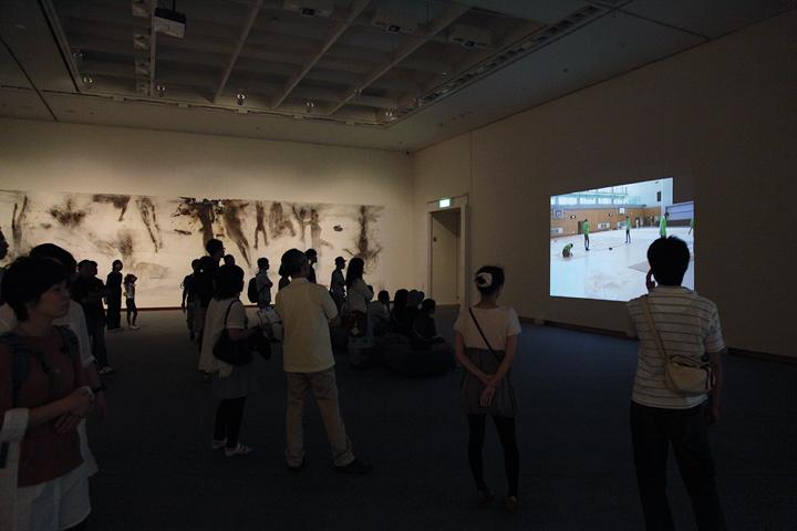 蔡國強(ツァイ・グォチャン)の作品と制作過程の記録映像 愛知県美術館