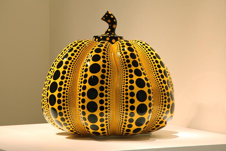 草間彌生『Pumpkin』 愛知県美術館