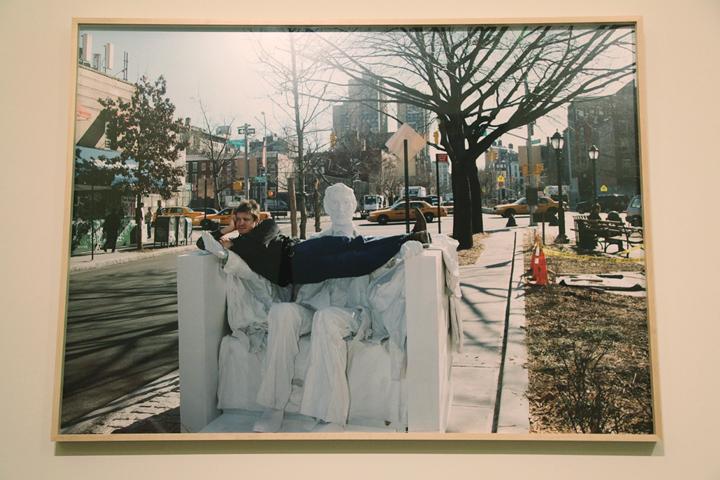 アデル・アブデスメッド『リンカーン』 愛知県美術館