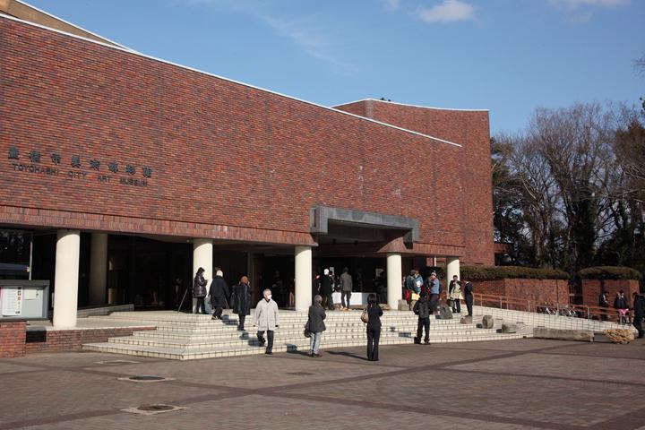 会場の1つ豊橋市美術博物館