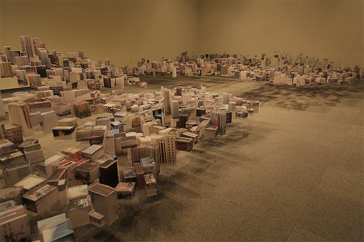 ハン・フェン『Floating City 2011-13』2013
