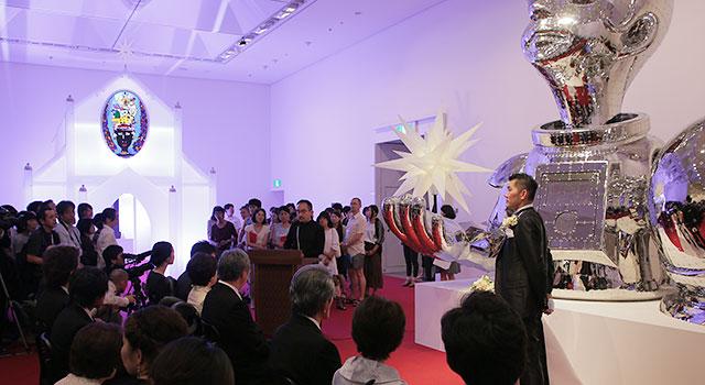 ヤノベケンジ 《太陽の結婚式》 あいちトリエンナーレ2013