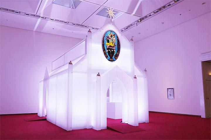 ヤノベケンジ《太陽の礼拝堂》2013