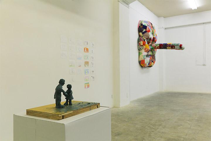 名古屋芸術大学《Primordial Essence -根源と本質》アートラボあいち2階