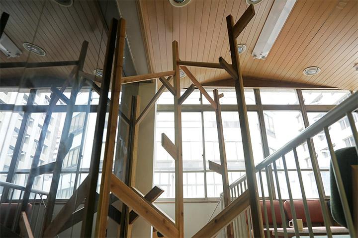 ASIT《寄木》ビジターセンターアンドスタンドカフェ2階(長者町各所)