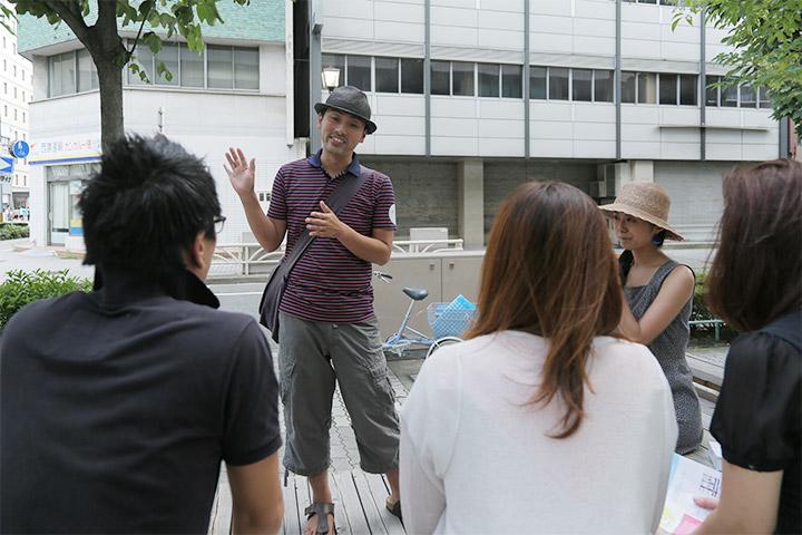 EAT&ART TARO + 東山佳永《おしゃべりな氷屋『イチベ』》長者町各所