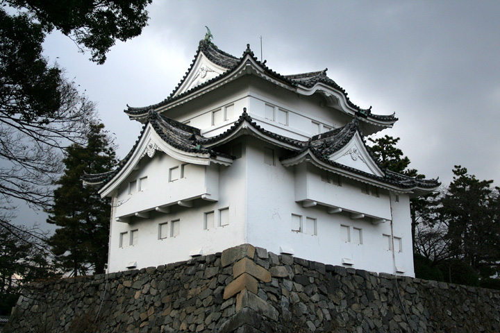 東南隅櫓(重要文化財)