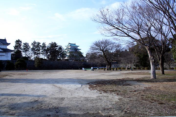 二の丸御殿跡