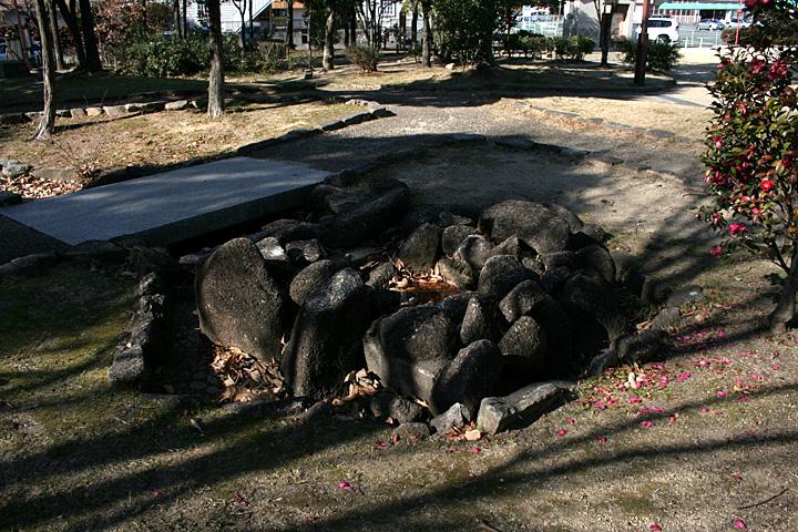 桶狭間古戦場公園 義元首洗い池