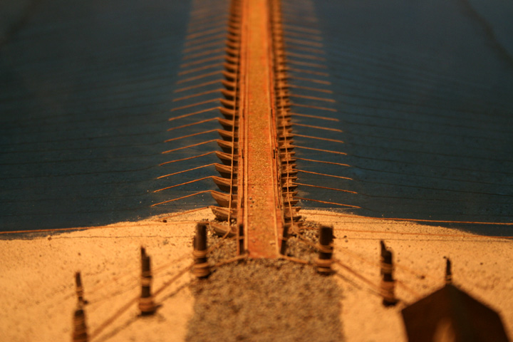 船橋の模型(尾西歴史民俗資料館)
