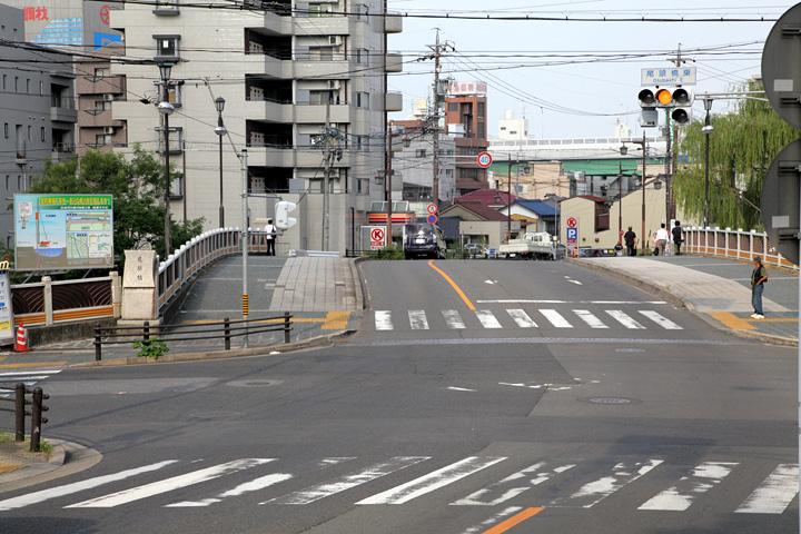 堀川を渡る佐屋街道