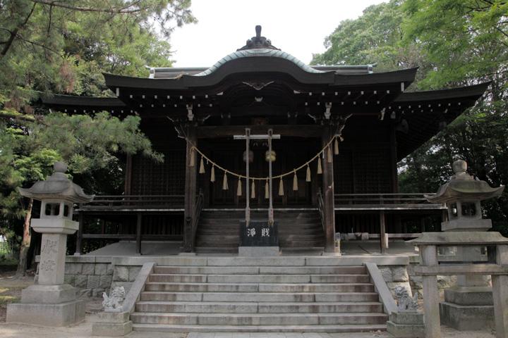 国玉神社拝殿