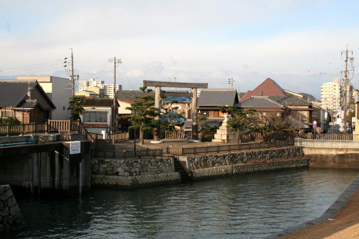 桑名宿渡し場跡
