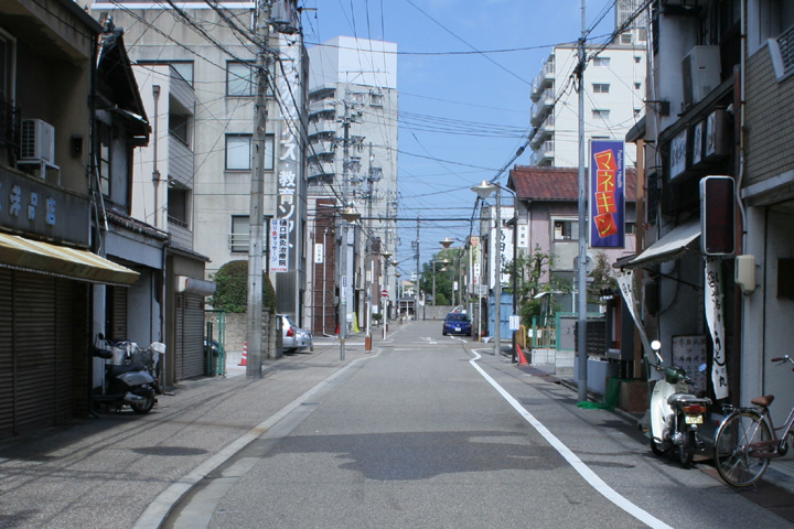 東海道高札場跡(現在)