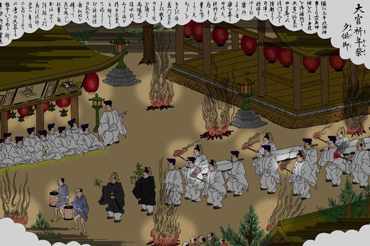 熱田神宮 祈年祭夕供御