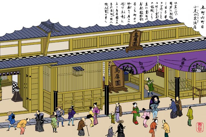 小見山宗法店(尾張名所図絵)