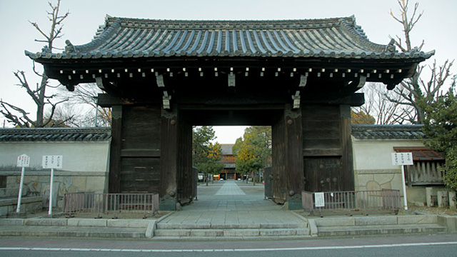 現在の風景 総門