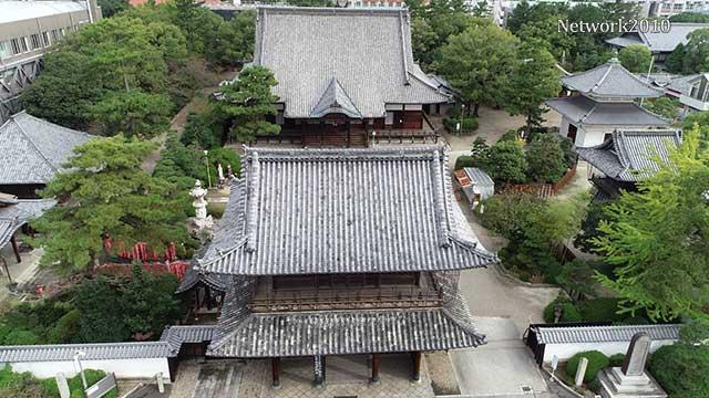 現在の風景 三門・本堂
