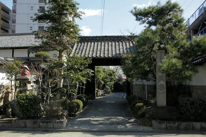 含笑寺(禅寺町筋)