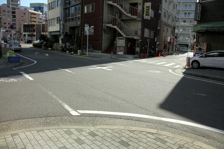 禅寺町筋と駿河街道