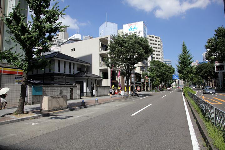 宝泉寺と広小路
