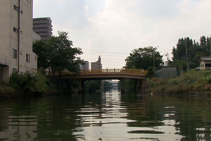 北から見た日置橋