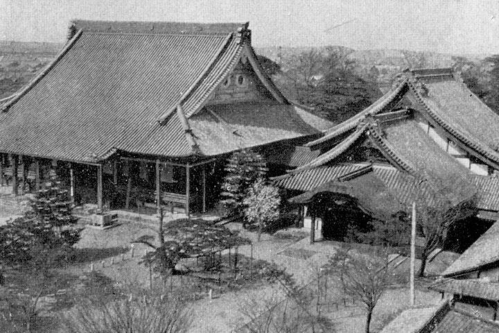戦災で焼失前の西別院