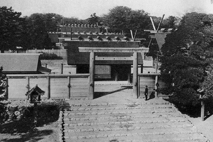 焼失前の熱田神宮