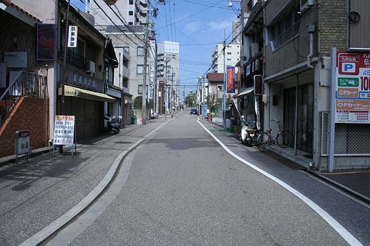東海道(追分へ)