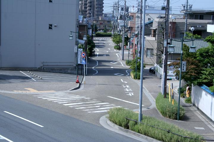 東海道(七里渡し渡船場へ)