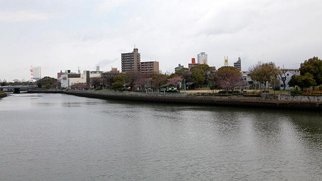大瀬子公園(魚市場跡)