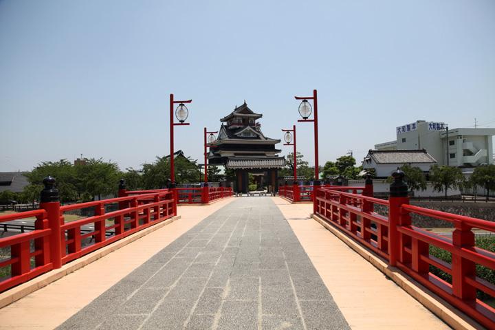 清洲城大手門と大手橋