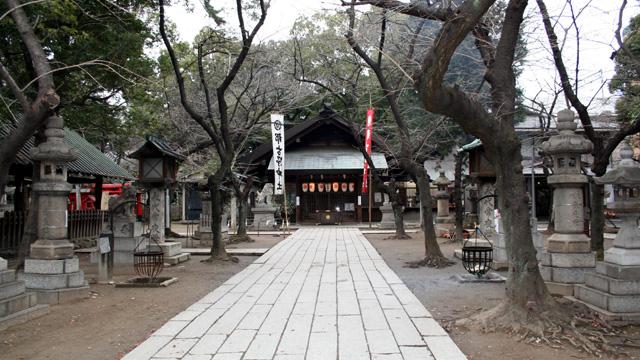 現在の風景 那古野神社本殿