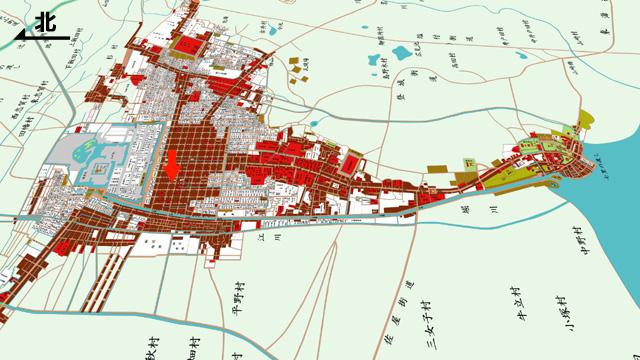 江戸後期の名古屋城下