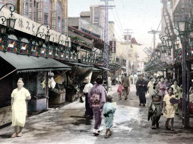 昭和初期の大須中店