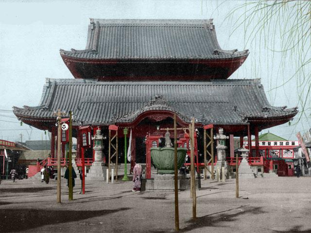 昭和初期の大須観音