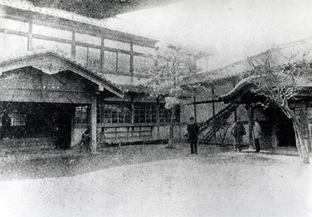 市政発足時の名古屋市役所