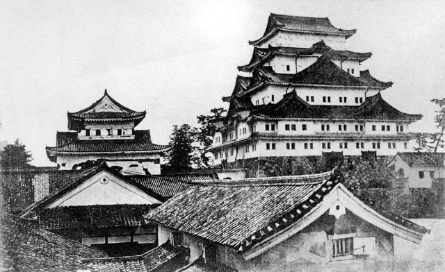 金シャチのない名古屋城(鶴舞中央図書館所蔵の原版をデジタルリマスター)