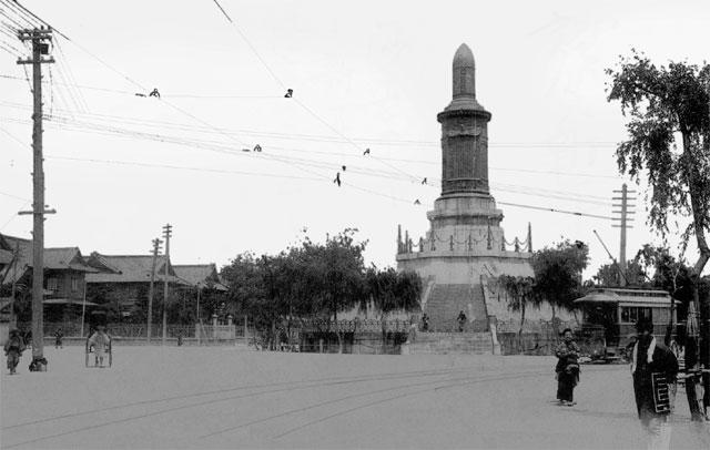 県庁前ロータリー(名古屋市市政資料館所蔵の原版をデジタルリマスター)