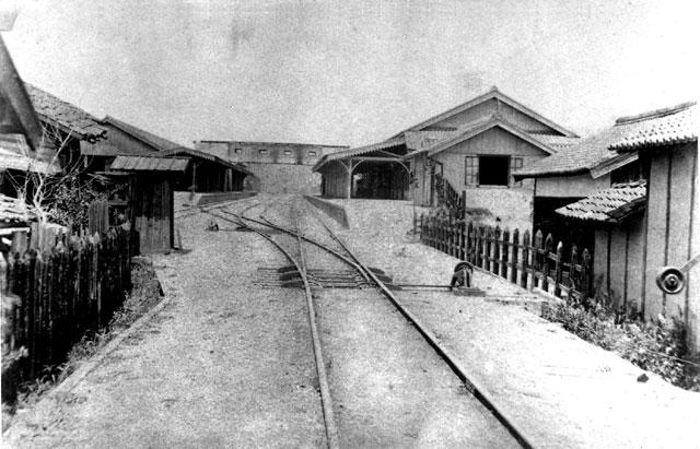 開業当時の名古屋駅構内(鶴舞中央図書館所蔵の原版をデジタルリマスター)