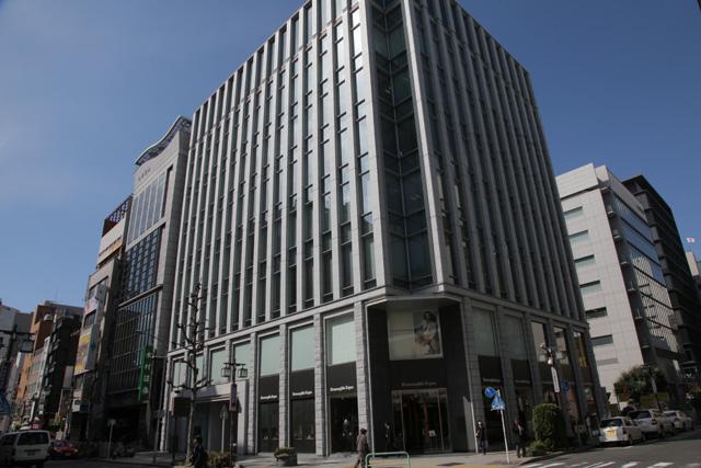 現在の風景 名古屋証券取引所ビル